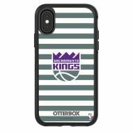 Sacramento Kings OtterBox iPhone X/Xs Symmetry Stripes Case