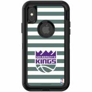 Sacramento Kings OtterBox iPhone XR Defender Stripes Case