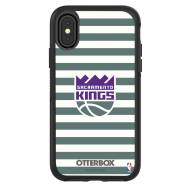 Sacramento Kings OtterBox iPhone XR Symmetry Stripes Case