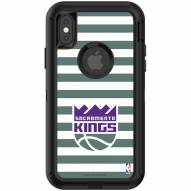 Sacramento Kings OtterBox iPhone XS Max Defender Stripes Case