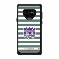 Sacramento Kings OtterBox Samsung Galaxy Note9 Symmetry Stripes Case