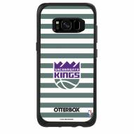 Sacramento Kings OtterBox Samsung Galaxy S8 Symmetry Stripes Case