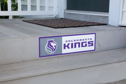 Sacramento Kings Outdoor Step Graphic