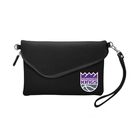 Sacramento Kings Pebble Fold Over Purse