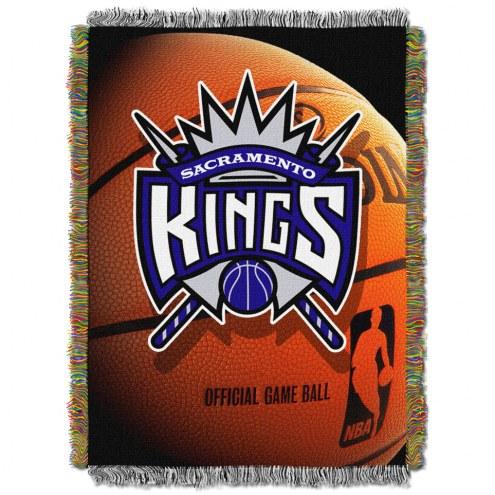 Sacramento Kings Photo Real Throw Blanket