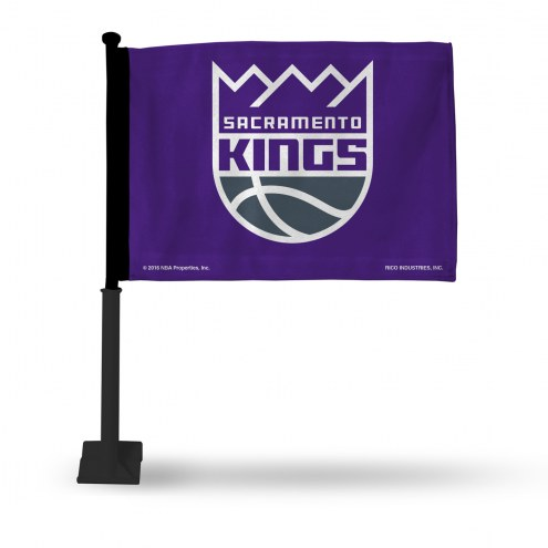 Sacramento Kings Car Flag