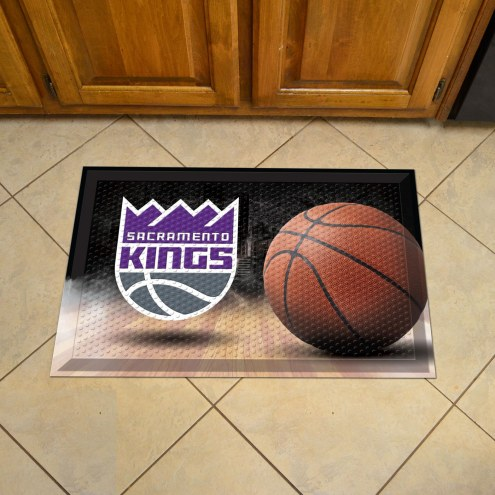 Sacramento Kings Scraper Door Mat