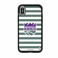 Sacramento Kings Speck iPhone XS Max Presidio Pro Stripes Case