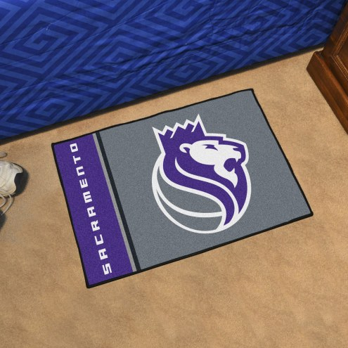 Sacramento Kings Uniform Inspired Starter Rug