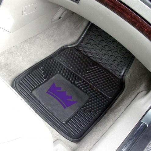 Sacramento Kings Vinyl 2-Piece Car Floor Mats