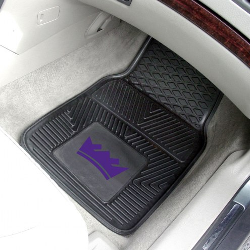 Sacramento Kings Vinyl 2-Piece Car Floor Mats