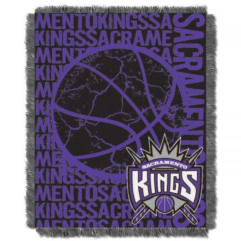 Sacramento Kings Woven Jacquard Throw Blanket