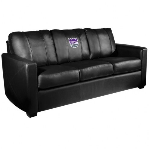 Sacramento Kings XZipit Silver Sofa with Secondary Logo