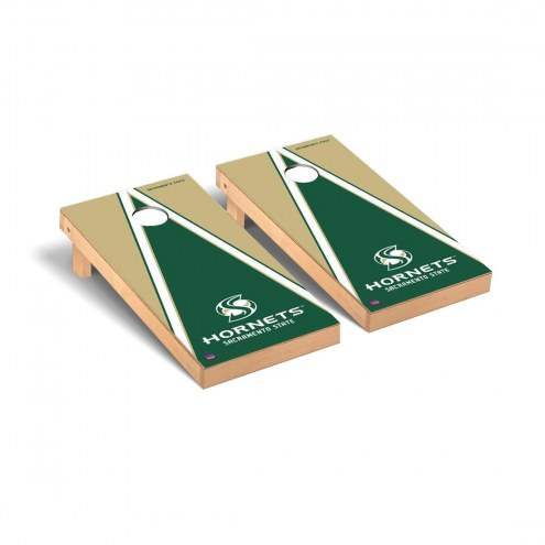 Sacramento State Hornets Triangle Cornhole Game Set