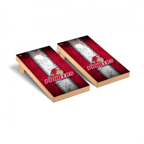 Sacred Heart Pioneers Vintage Wooden Cornhole Game Set