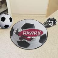 Saint Joseph's Hawks Soccer Ball Mat