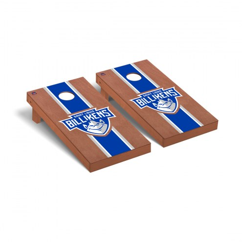 Saint Louis Billikens Rosewood Stained Cornhole Game Set