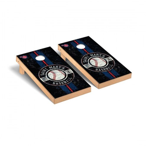 Saint Mary's Gaels Baseball Vintage Cornhole Game Set