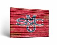 Saint Mary's Gaels Weathered Canvas Wall Art