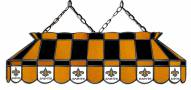 """New Orleans Saints NFL Team 40"""" Rectangular Stained Glass Shade"""