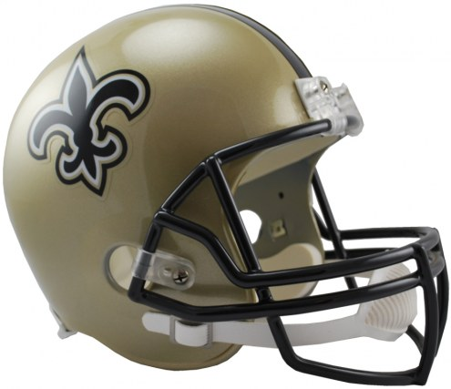 Riddell New Orleans Saints Deluxe Collectible NFL Football Helmet