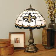 New Orleans Saints NFL Stained Glass Table Lamp