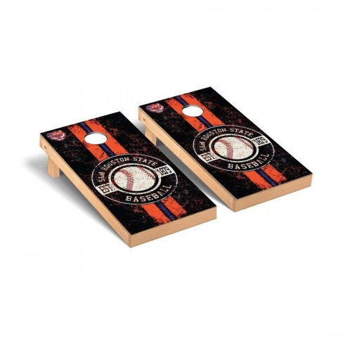 Sam Houston State Bearkats Baseball Vintage Cornhole Game Set