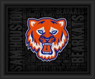 Sam Houston State Bearkats College Word Cloud