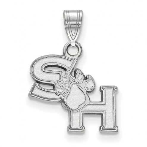 Sam Houston State Bearkats Sterling Silver Small Pendant