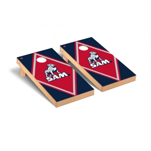 Samford Bulldogs Diamond Cornhole Game Set