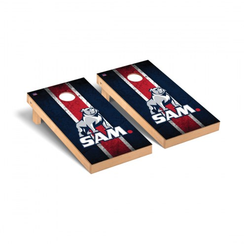 Samford Bulldogs Vintage Cornhole Game Set