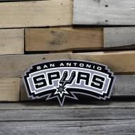 "San Antonio Spurs 12"" Steel Logo Sign"