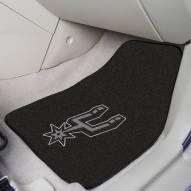 San Antonio Spurs 2-Piece Carpet Car Mats