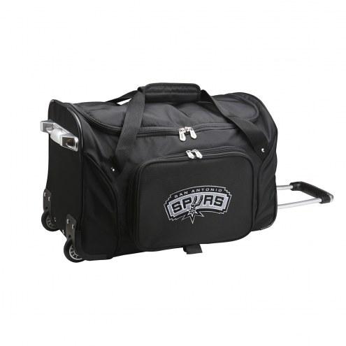 "San Antonio Spurs 22"" Rolling Duffle Bag"