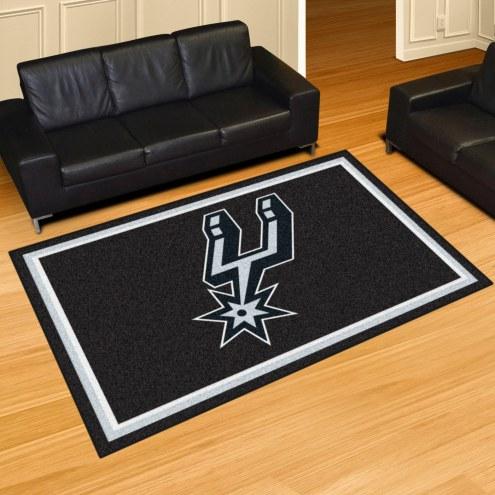 San Antonio Spurs 5' x 8' Area Rug