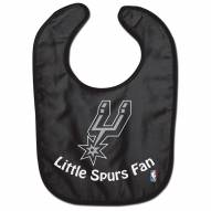 San Antonio Spurs All Pro Little Fan Baby Bib