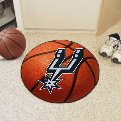 San Antonio Spurs Basketball Mat