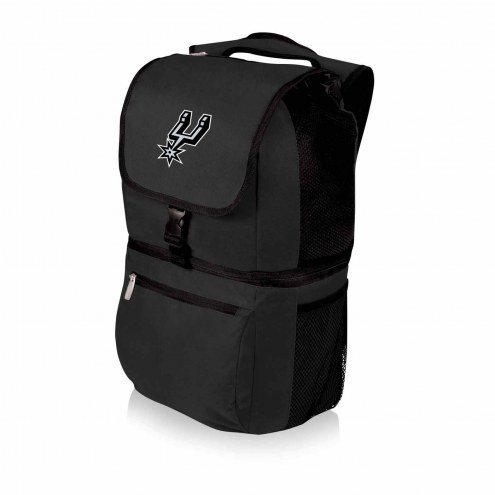 San Antonio Spurs Black Zuma Cooler Backpack