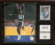 "San Antonio Spurs David Robinson 12"" x 15"" Player Plaque"