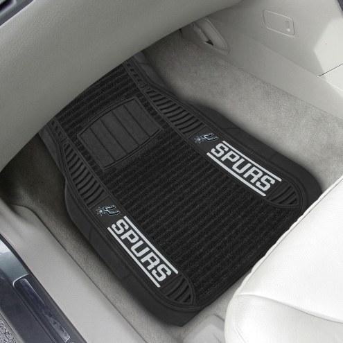 San Antonio Spurs Deluxe Car Floor Mat Set