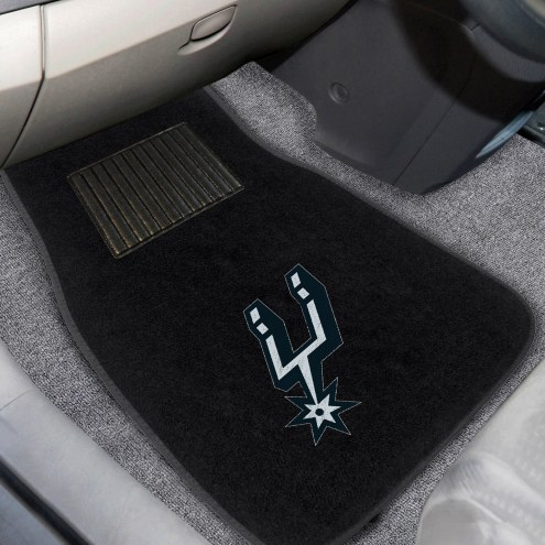 San Antonio Spurs Embroidered Car Mats