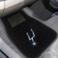 San Antonio Spurs Embroidered Car Mats