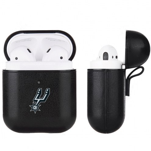 San Antonio Spurs Fan Brander Apple Air Pods Leather Case