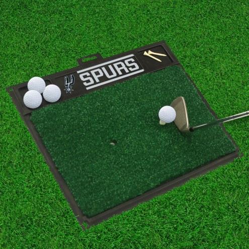 San Antonio Spurs Golf Hitting Mat