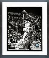 San Antonio Spurs James Silas Action Framed Photo