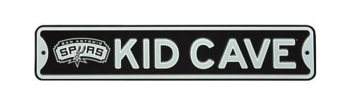 San Antonio Spurs Kid Cave Street Sign