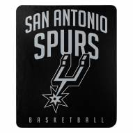 San Antonio Spurs Layup Fleece Blanket
