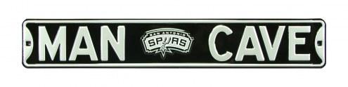 San Antonio Spurs Man Cave Street Sign