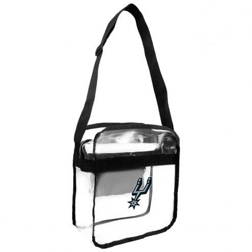 San Antonio Spurs Clear Crossbody Carry-All Bag