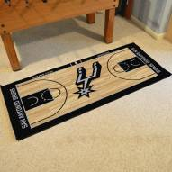 San Antonio Spurs NBA Court Large Runner
